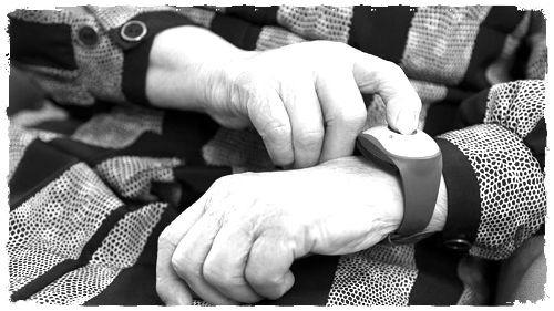 wrist medical alert system